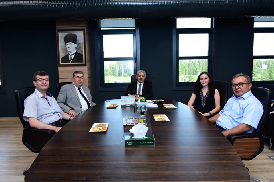 Eskişehir OSB Başkanı Nadir Küpeli'yi Ziyaret Ettik