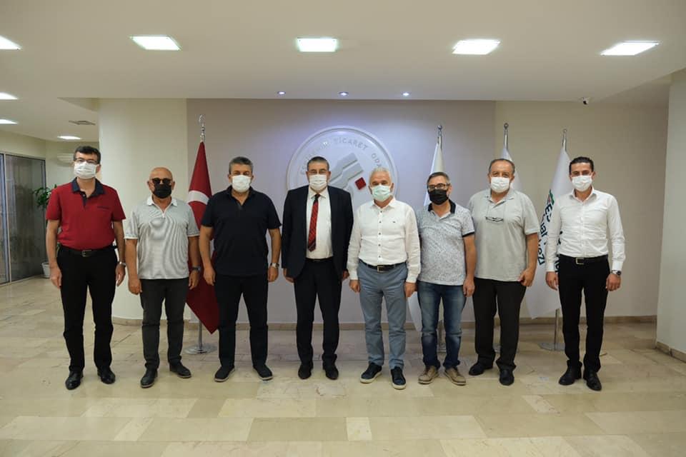 Eskisehir TİCARET ODASI başkanı Sn.Metin Güler e ziyarette bulunduk