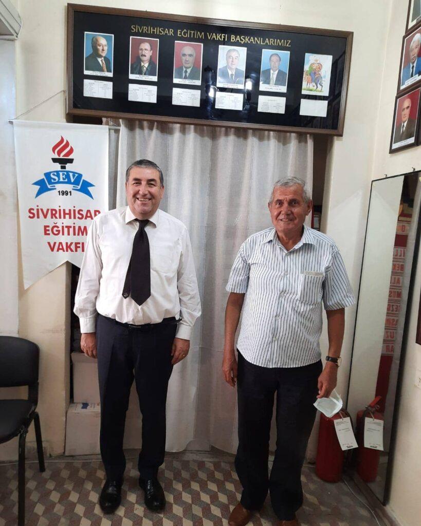 Sayın Yavuz Barış vakfımızı ziyaret etmiştir
