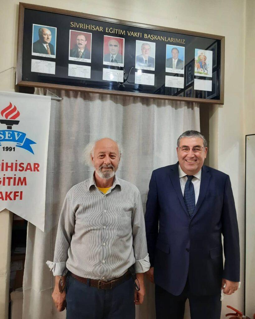 Prof. Dr. Ömer Adil Atasoy ziyaretimize gelmiştir