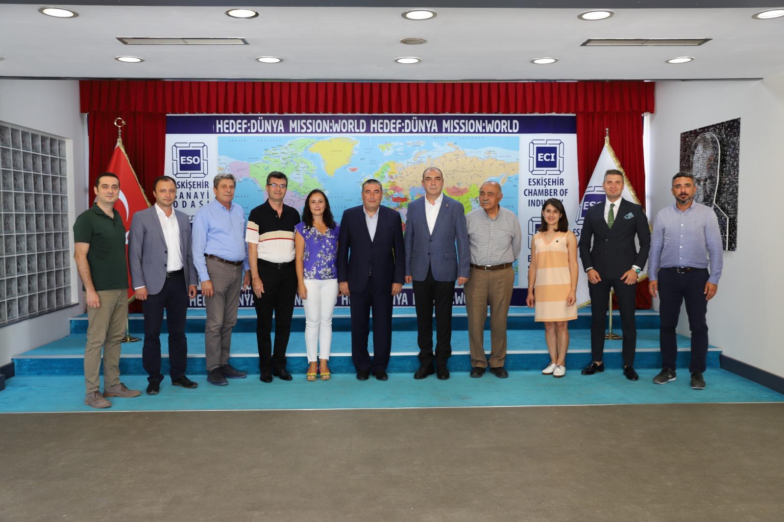 IMG 20210810 WA0006 - Eskişehir Sanayi Odası Başkanını Ziyaret Ettik