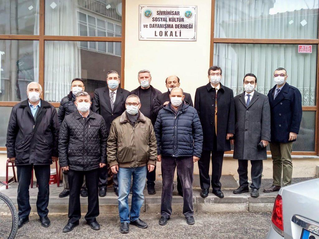 Sivrihisar Sosyal Kültür ve Dayanışma Derneğine Ziyaret Ettik