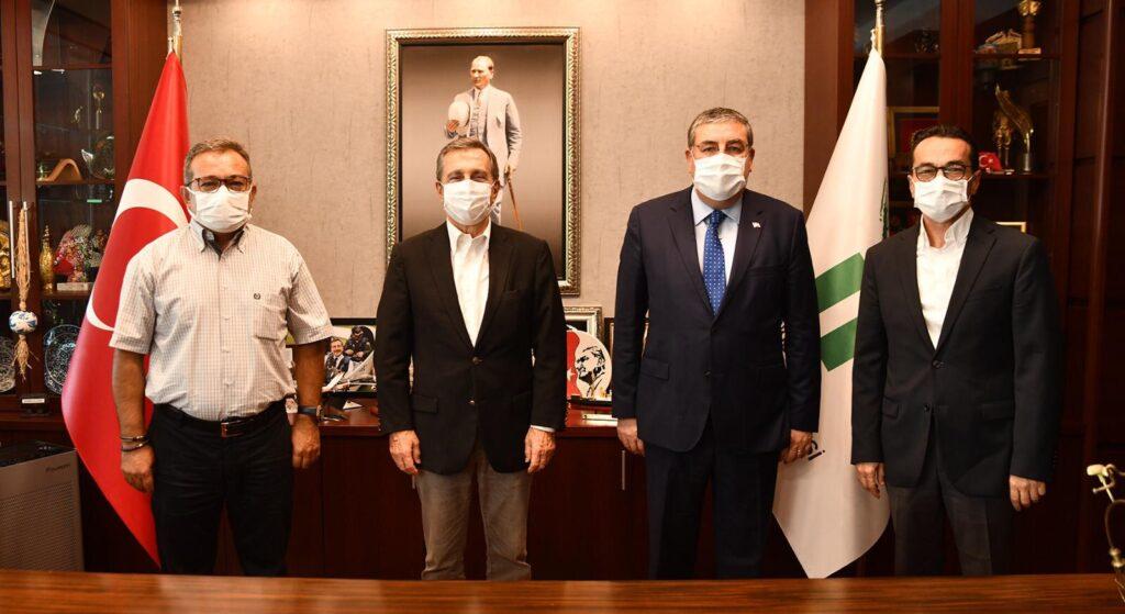 Sn.Ahmet Ataç ı ziyaret ettik