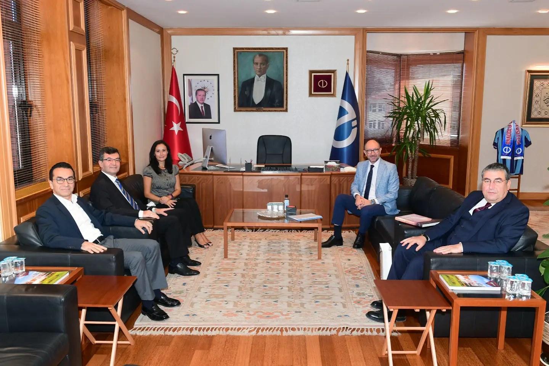 ZIYARET - Anadolu Üniversitesi Rektörü Sn.Fuat Erdal'ı Ziyaret Ettik