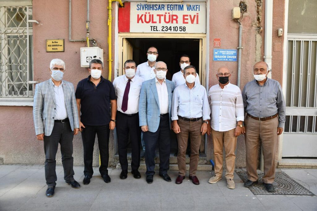 Sn.Dr. Ahmet Ataç vakfımızı ziyaret etmiştir