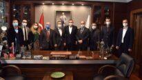 Tepebaşı Belediye Başkanı Dt. Ahmet Ataç Ziyareti