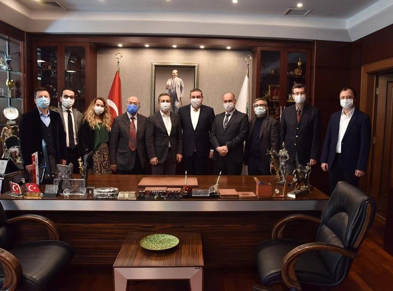 ahmet atac ziyaret - Tepebaşı Belediye Başkanı Dt. Ahmet Ataç Ziyareti