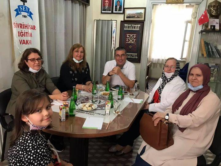 Vakfımızın Kadın Kolları üyeleri ile ilk toplantımızı gerçekleştirdik